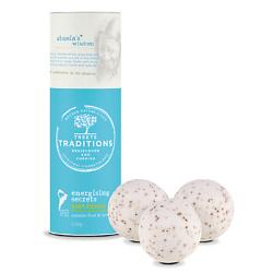 TREETS TRADITIONS Средства косметические соли для принятия ванн бомбочка для ванны ENERGISING SECRETS 3 шт. x 100 г