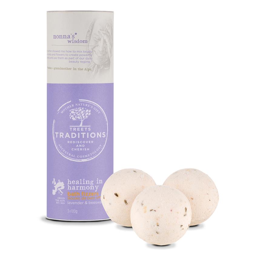 TREETS TRADITIONS Средства косметические соли для принятия ванн «бомбочка для ванны» HEALING IN HARMONY