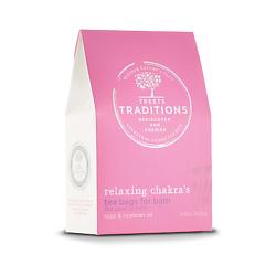 TREETS TRADITIONS Средство для принятия ванн BATH TEA RELAXING CHAKRAS 3 шт. х 60 г
