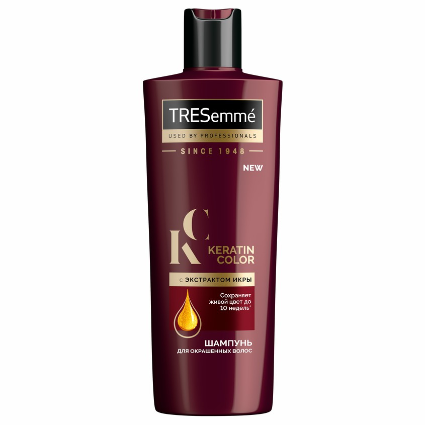 TRESEMME Шампунь для окрашенных волос KERATIN SMOOTH Color.