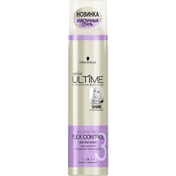 ULTIME Лак для волос styliste ELASTIN + FLEX CONTROL 300 мл