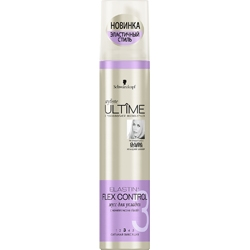 ULTIME Мусс для укладки волос styliste ELASTIN + FLEX CONTROL 200 мл