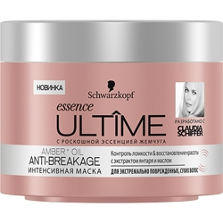 ULTIME Интенсивная маска essence ULTIME Amber + Oil Anti-Breakage 200 мл
