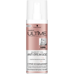 ULTIME Спрей-кондиционер essence ULTIME Amber + Oil Anti-Breakage 200 мл