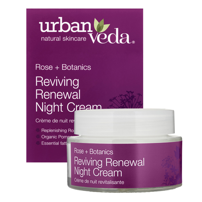URBAN VEDA Крем для лица ночной обновляющий и восстанавливающий