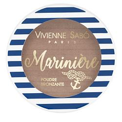 VIVIENNE SABO Бронзатор для лица MARINIERE № 01 6 г vivienne sabo палетка для скульптурирования лица mariniere 02