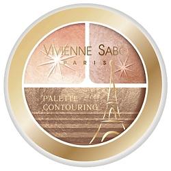VIVIENNE SABO VIVIENNE SABO Палетка хайлайтеров Palette lumiere L'etoile de Cabaret Палетка недорого