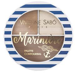 VIVIENNE SABO Палетка для скульптурирования лица Mariniere № 02 vivienne sabo палетка для скульптурирования лица mariniere 02