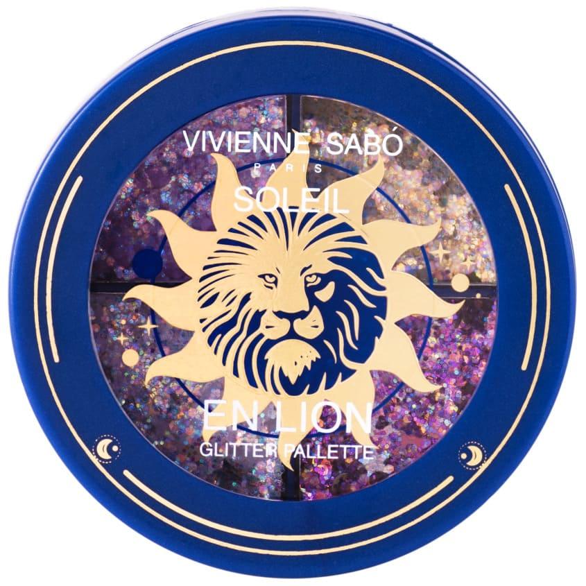 VIVIENNE SABO Палетка глиттеров Soleil en Lion