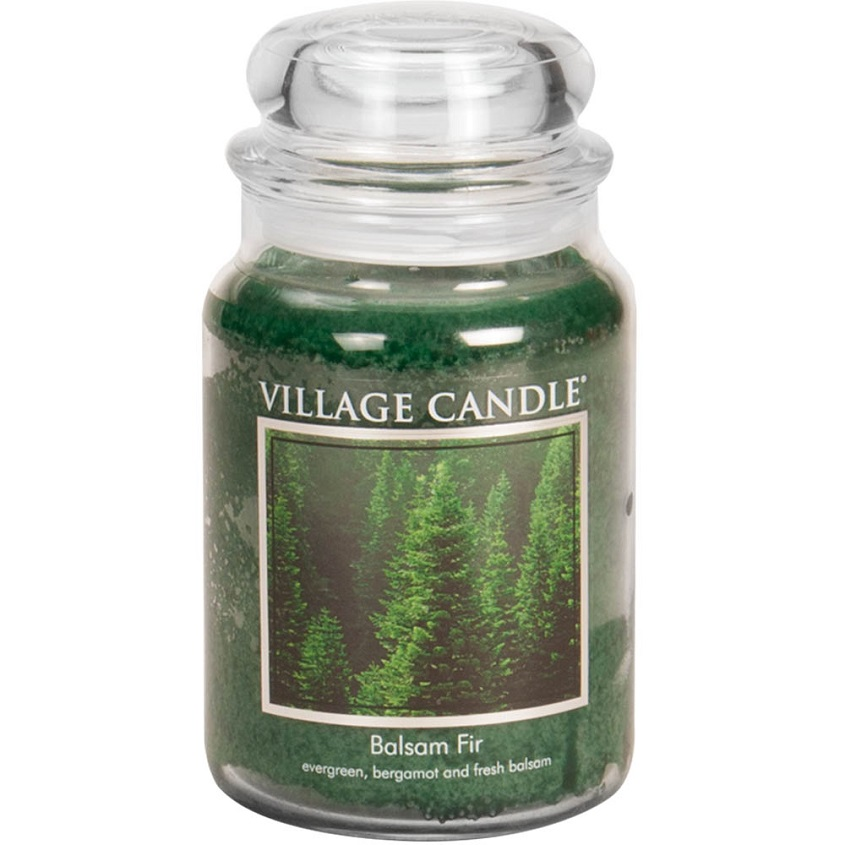 "VILLAGE CANDLE Ароматическая свеча ""Black Bamboo"""