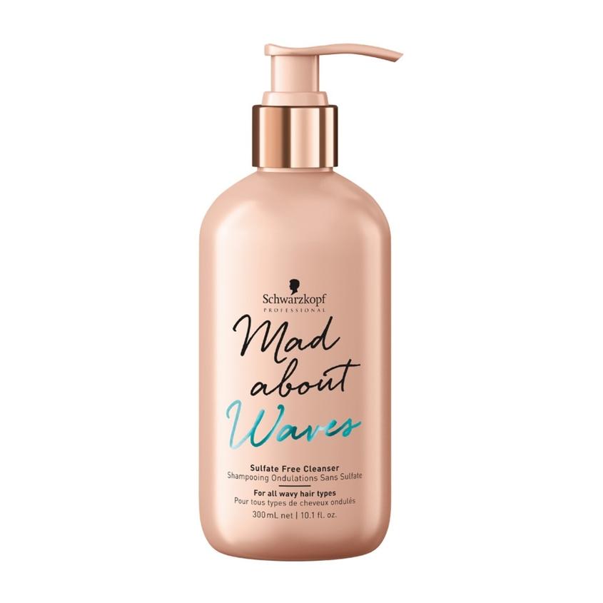 SCHWARZKOPF PROFESSIONAL Бессульфатный очищающий крем для тонких, нормальных и жестких волос Mad About Waves