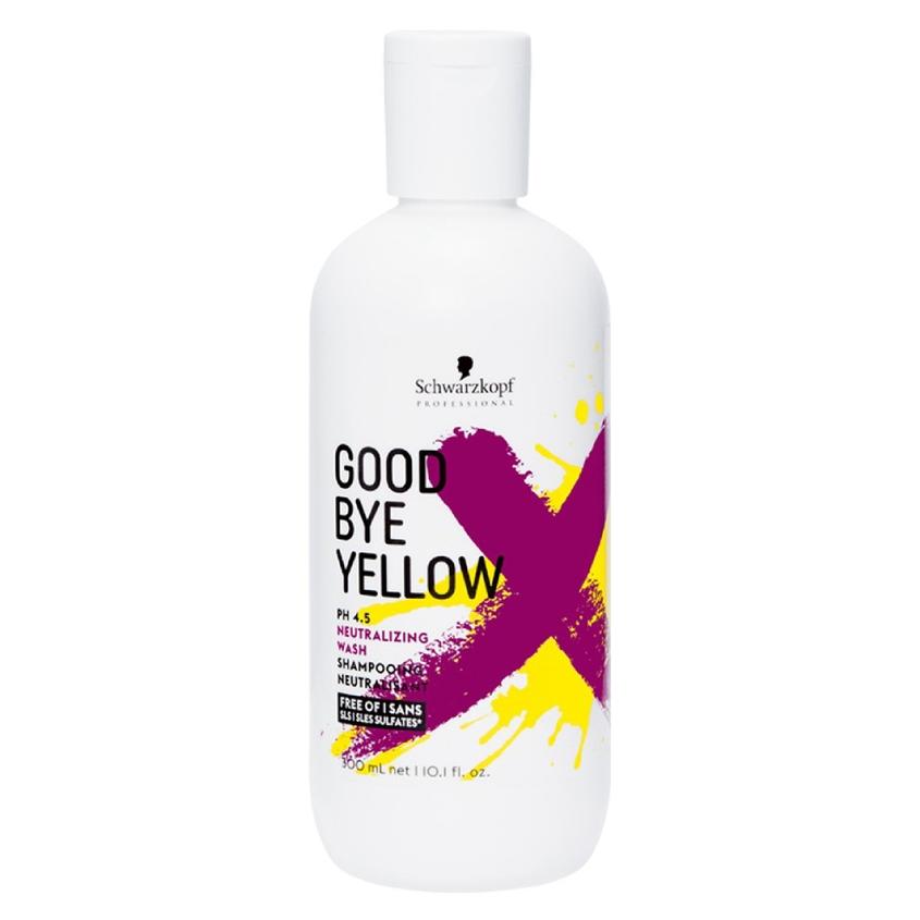 Купить SCHWARZKOPF PROFESSIONAL Высокопигментированный нейтрализующий шампунь Goodbye Yellow