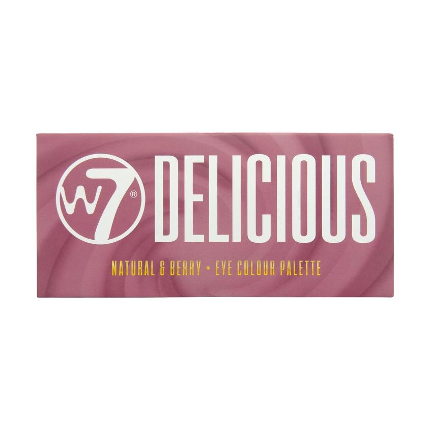 W7 Палетка теней для век Delicious