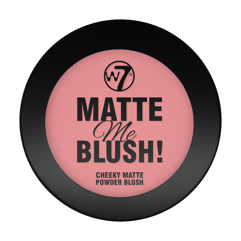W7 Матовые румяна для лица Matte Me Blush
