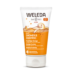 WELEDA Детский шампунь-гель для волос и тела Апельсин 150 мл