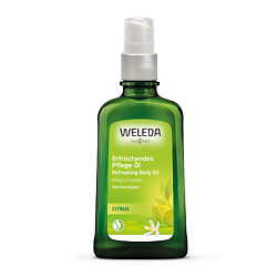 WELEDA WELEDA Цитрусовое освежающее масло для тела 100 мл масло weleda цитрусовое освежающее масло для тела weleda