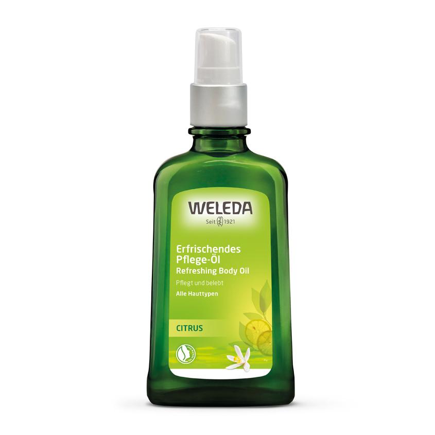 WELEDA Цитрусовое освежающее масло для тела
