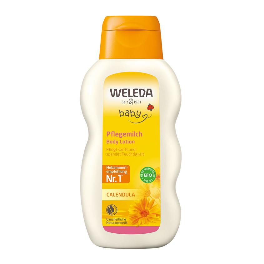 WELEDA Детское молочко для тела с календулой