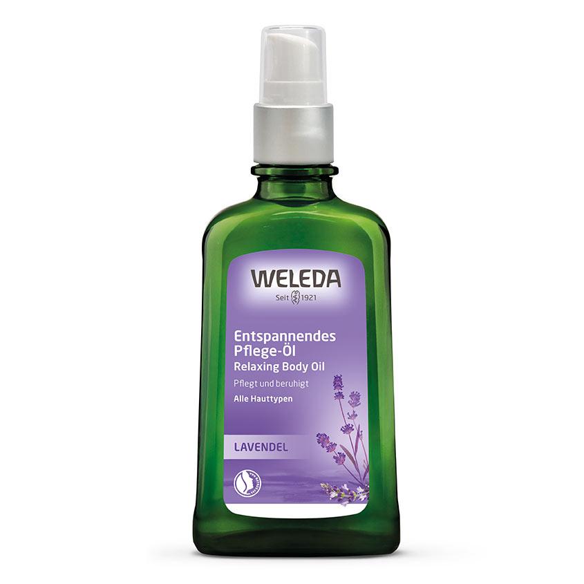 WELEDA Лавандовое расслабляющее масло для тела