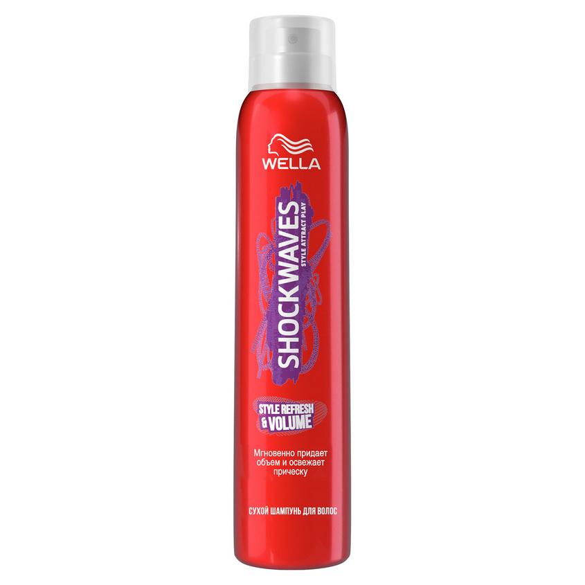 WELLA Shockwaves Сухой шампунь для волос Style Refresh & Volume