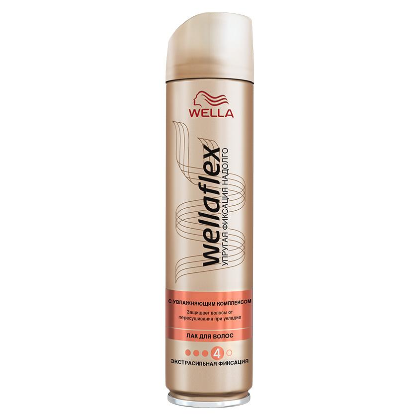 Купить WELLA Wellaflex Лак для укладки волос C увлажняющим комплексом экстрасильной фиксации