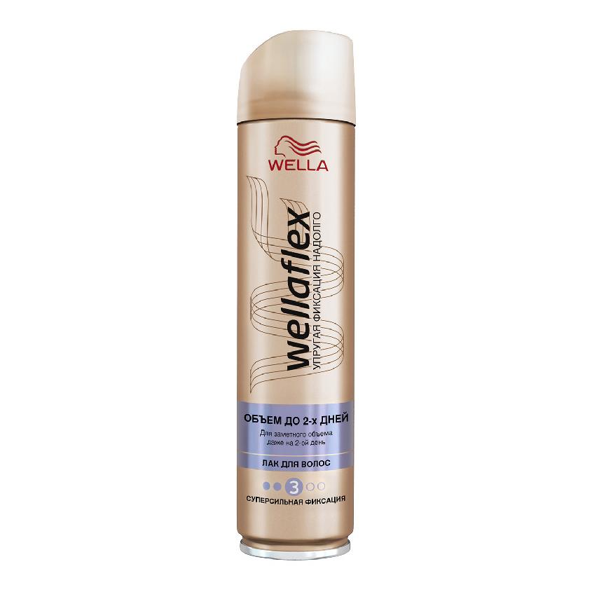 """WELLA Wellaflex Лак для укладки волос """"Объем до 2-х дней"""" сильной фиксации"""