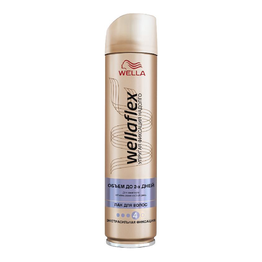WELLA Wellaflex Лак для укладки волос «Объем до 2-х дней» экстрасильной фиксации