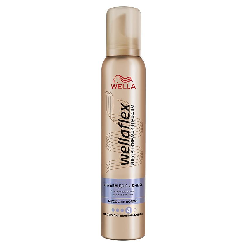 Купить WELLA Wellaflex Мусс для укладки волос Объем до 2-х дней экстрасильной фиксации
