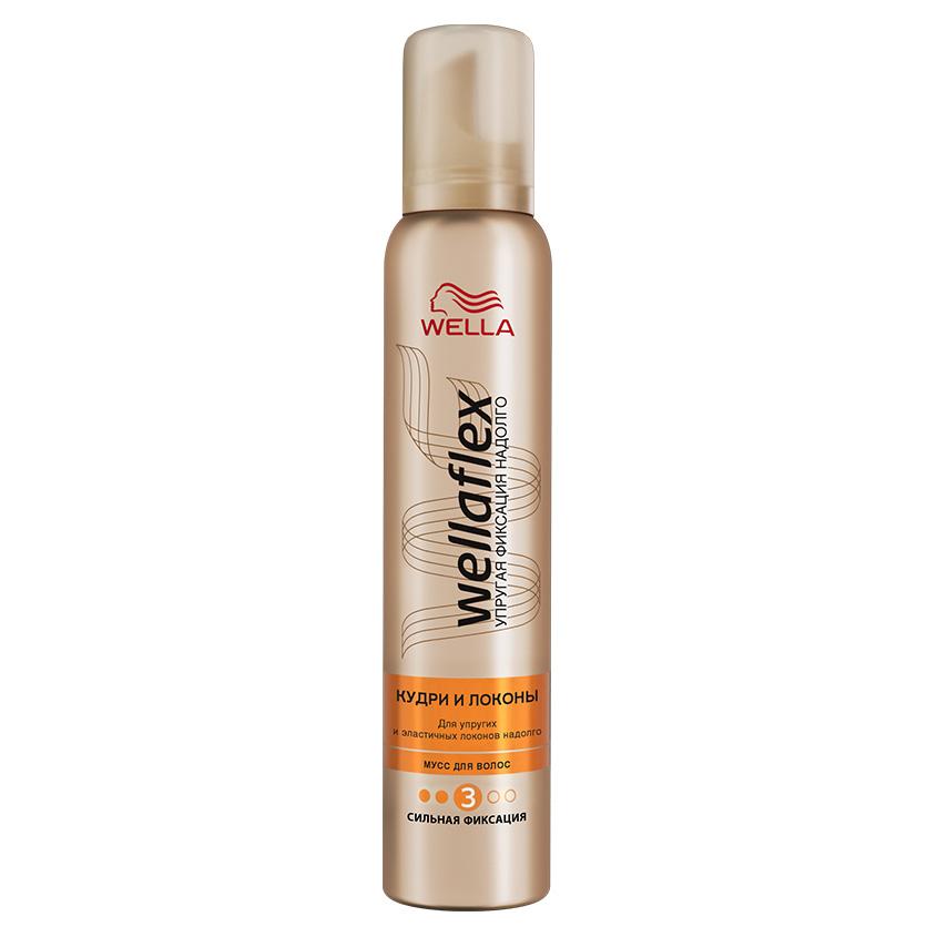 Купить WELLA Wellaflex Мусс для укладки волос Кудри и локоны сильной фиксации