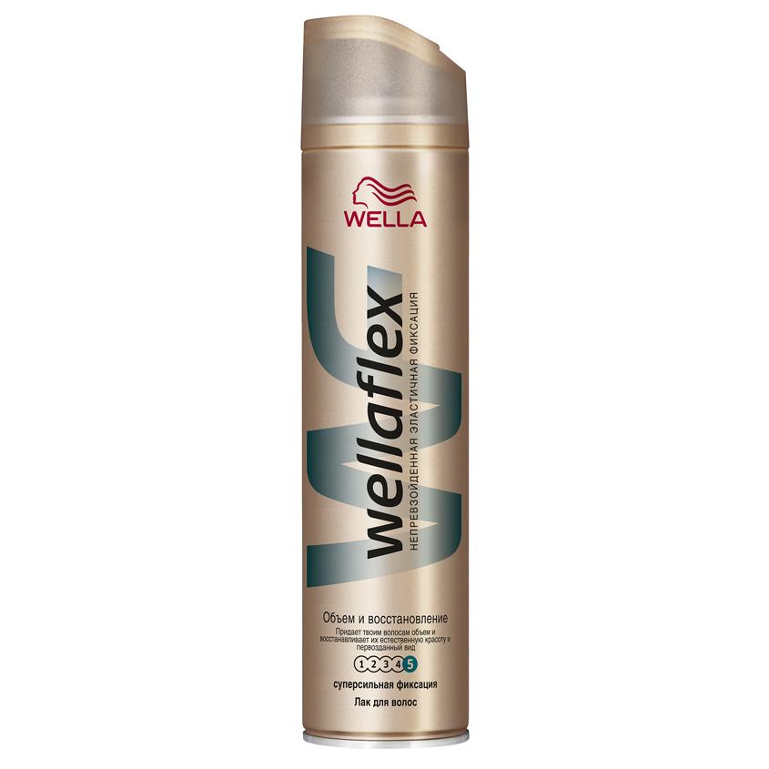 """WELLA Wellaflex Лак для укладки волос """"Объем и восстановление"""" суперсильной фиксации"""
