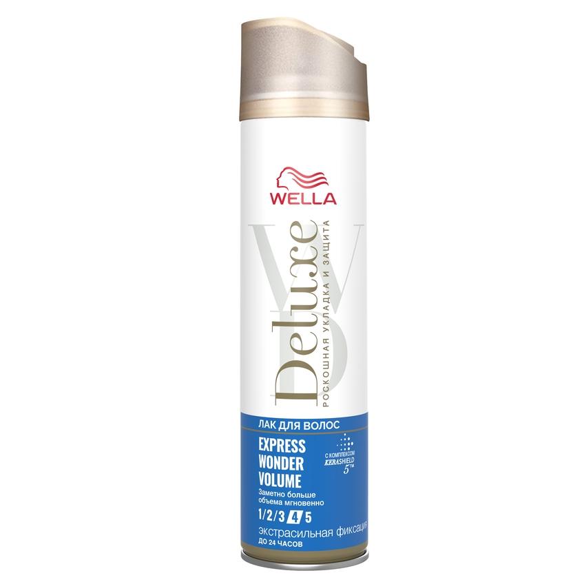 Купить WELLA Лак для волос Deluxe EXPRESS WONDER VOLUME экстрасильная фиксация