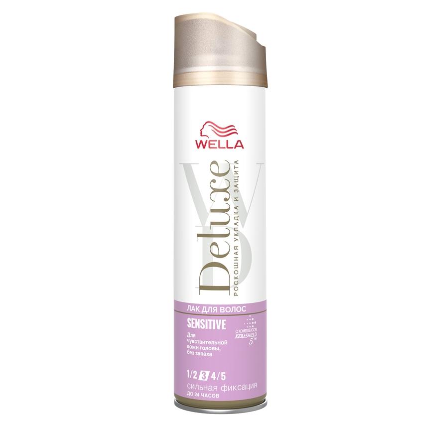 WELLA Лак для волос Deluxe SENSITIVE сильная фиксация