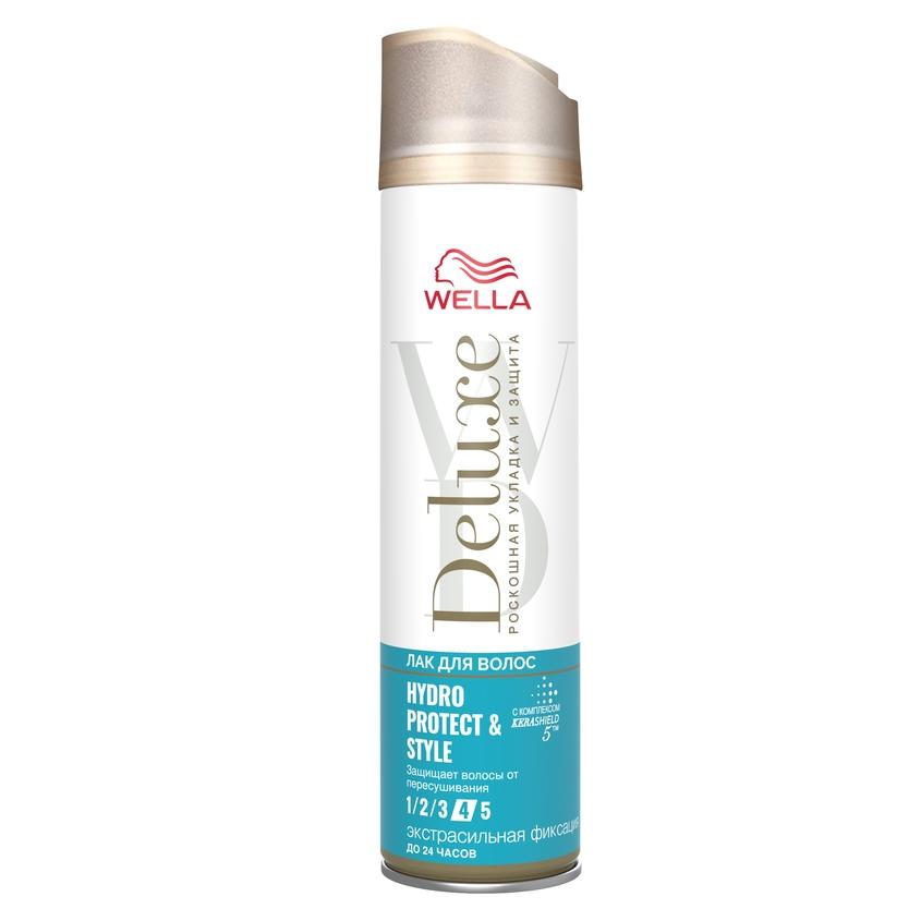 WELLA Лак для волос Deluxe HYDRO PROTECT STYLING экстрасильная фиксация