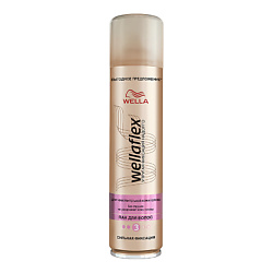 WELLA Лак для волос без запаха сильной фиксации Wellaflex 400 мл