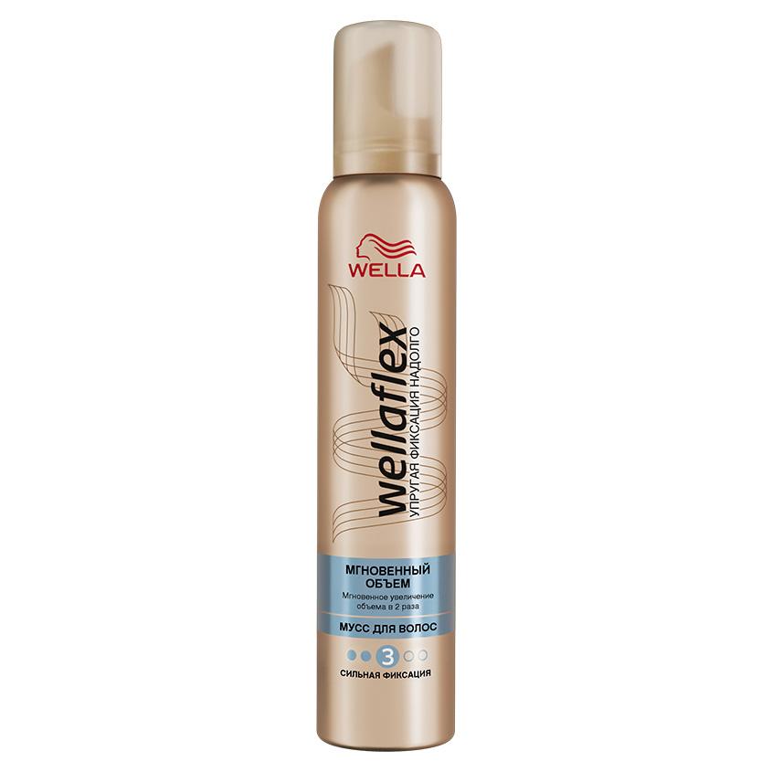 Купить WELLA Wellaflex Мусс для укладки волос Мгновенный объем экстрасильной фиксации