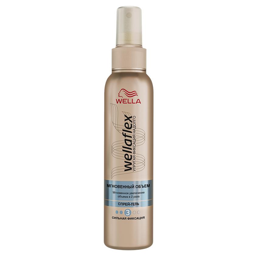 Купить WELLA Wellaflex Спрей-гель для укладки волос Мгновенный объем сильной фиксации