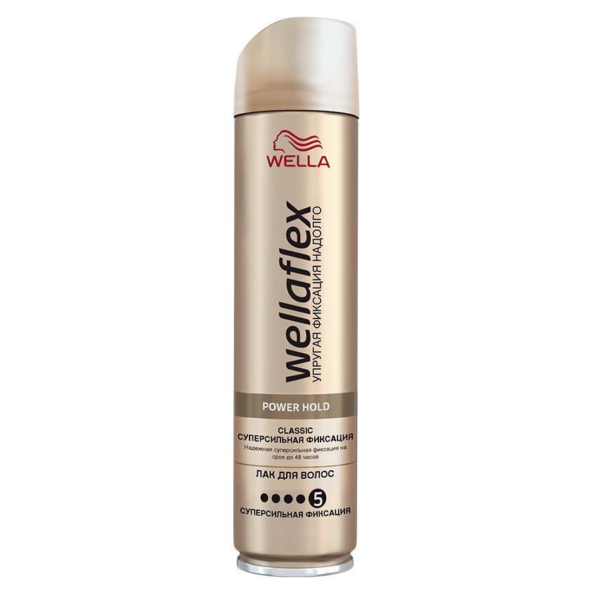 "WELLA Wellaflex Лак для укладки волос ""Classic суперсильная фиксация"""