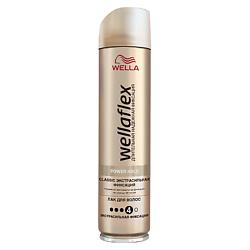 WELLA Лак для волос Wellaflex Classic экстрасильной фиксации 250 мл сoncept stylist designer лак для волос экстрасильной фиксации 400 мл