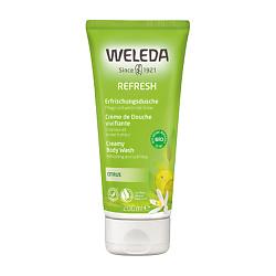 Купить WELEDA Цитрусовый освежающий гель для душа 200 мл