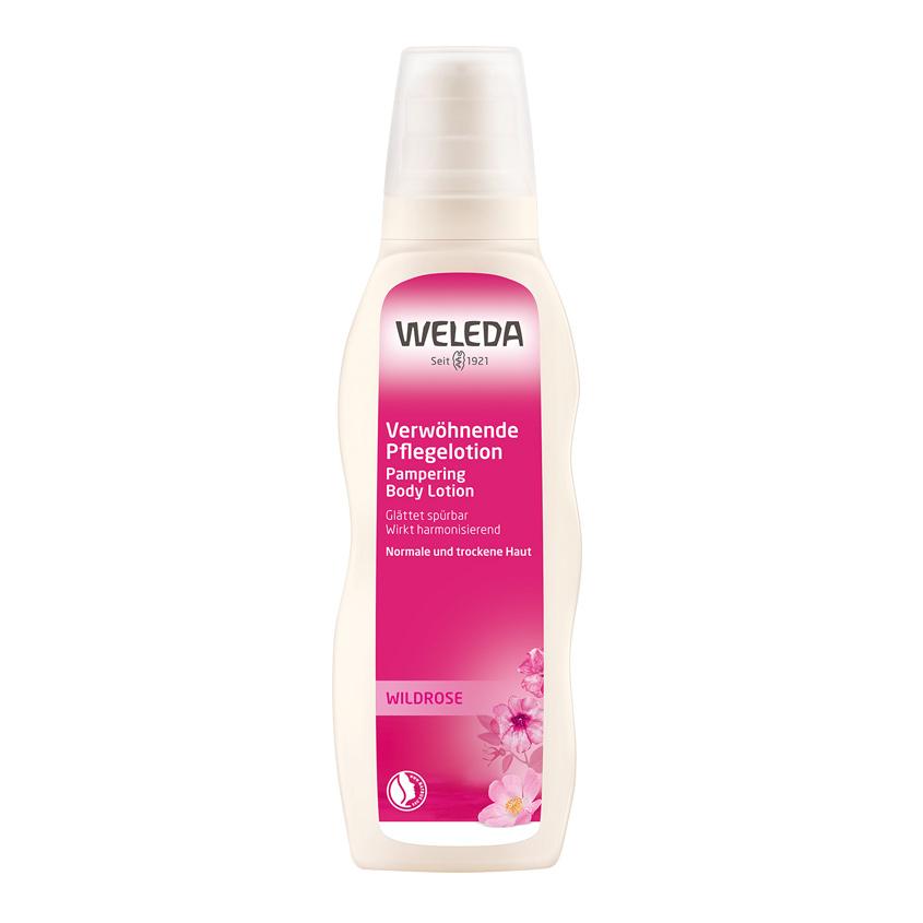 WELEDA Розовое нежное молочко для тела