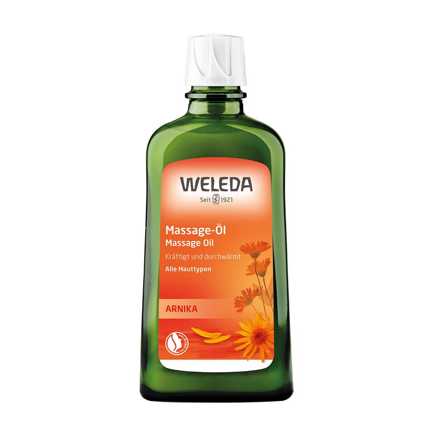WELEDA Массажное масло с арникой