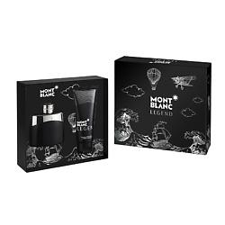 Купить MONTBLANC Подарочный набор Legend For Men. Туалетная вода, спрей 50 мл + Бальзам после бритья 100 мл