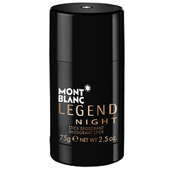 MONTBLANC Дезодорант-стик Legend Night 75 г