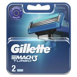 Купить со скидкой GILLETTE Сменные кассеты для бритвы Mach3 Turbo 8 шт.