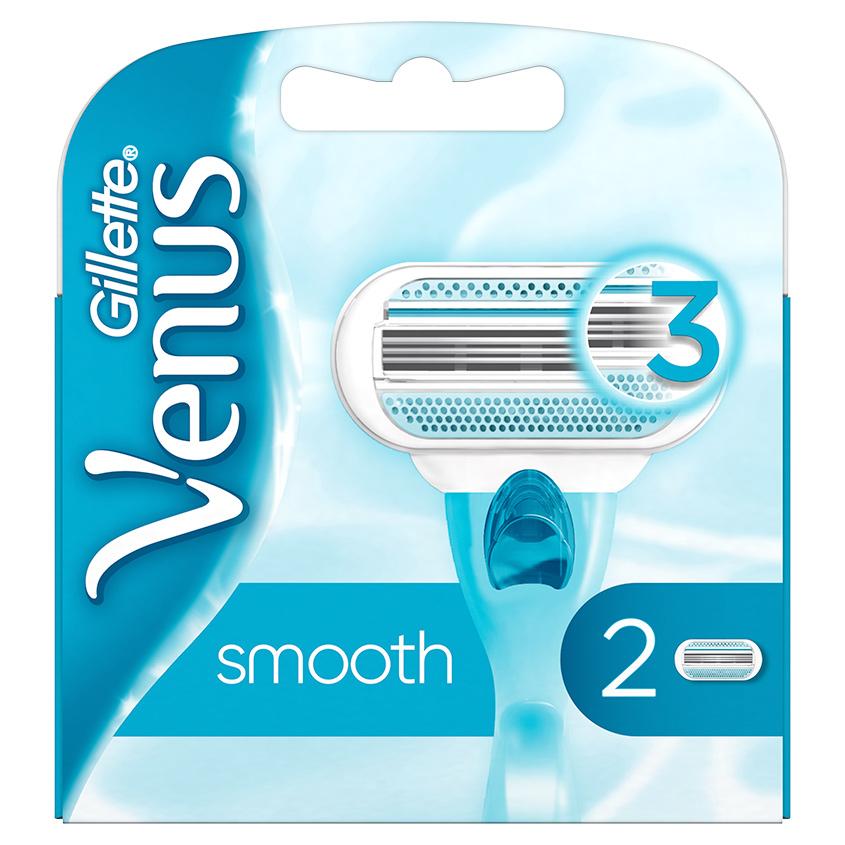 GILLETTE Сменные кассеты для бритья Venus Smooth