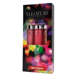 YLLOZURE Подарочный набор блесков для губ Флэш