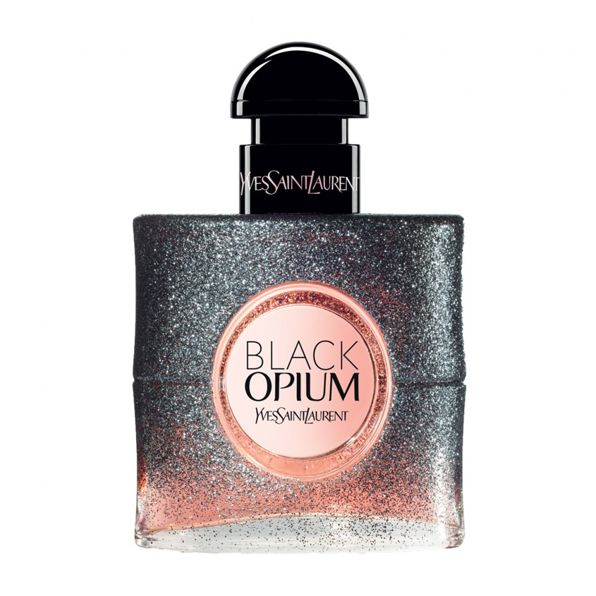 Купить YSL Black Opium Floral Shock, YVES SAINT LAURENT