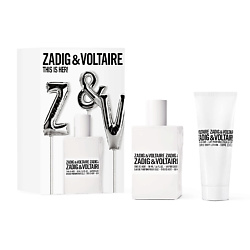 ZADIG&VOLTAIRE Набор This is her Парфюмерная вода, спрей 50 мл + Лосьон для тела 100 мл