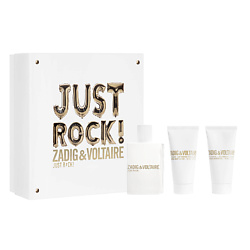 ZADIG&VOLTAIRE Набор JUST ROCK! POUR ELLE Парфюмерная вода, спрей 50 мл + Лосьон для тела 50 мл + Гель для душа 50 мл