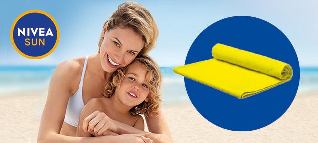 Пляжное полотенце NIVEA